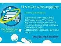 Car wash supplier