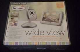 Summer video baby monitor brand new