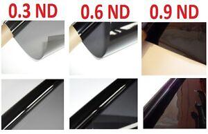 3 X Neutral Density Lighting Filter Gel Sheets 24
