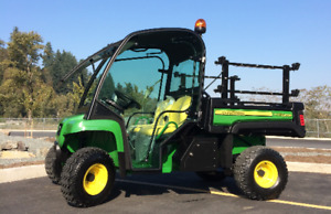 2015 John Deere TX Gator with Glass Cab