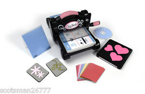 SIZZIX BIG SHOT DIE CUTTING MACHINE STARTER KIT CUTTING PADS BIGZ DIE SHIM DIES