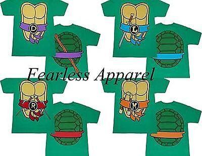I Am Tmnt Teenage Mutant Ninja Turtles Herren Erwachsene Kostüm T-Shirt - Tmnt T Shirt Kostüm
