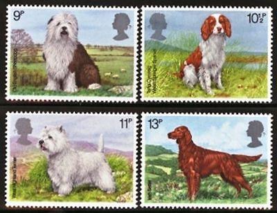 GB MNH STAMP SET 1979 Dogs SG 1075-1078 UMM