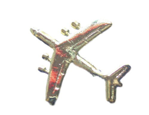 141 Cargo Plane Military Gilt Plated Lapel Pin Badge