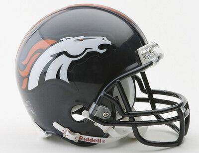 DENVER BRONCOS NFL Football Helmet BIRTHDAY WEDDING CAKE TOPPER DECORATION - Broncos Birthday