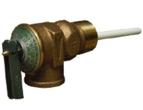 """Cash Acme 18822A-0150 Temperature & Pressure Relief Valve 3/4"""" 150 Psi"""