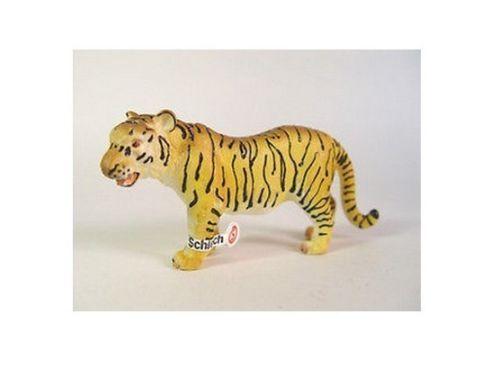 RARE Retired Schleich S14023 Yellow Tigress Tiger PVC Figure Figurine