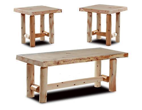 log coffee table ebay. Black Bedroom Furniture Sets. Home Design Ideas