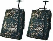 Patterned Suitcase