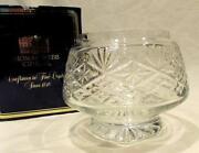 Thomas Webb Crystal Bowl