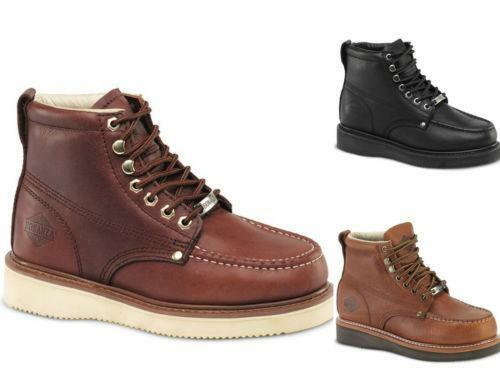 Mens Wedge Sole Boots | eBay