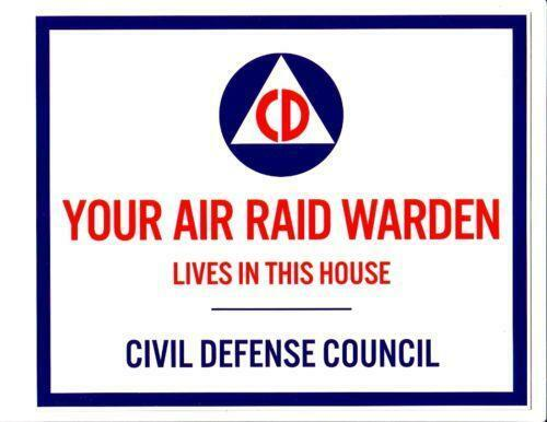 Civil Defense Siren >> Air RAID Warden: Collectibles | eBay