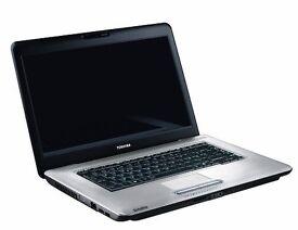 Toshiba L450D Windows 7 Laptop ** WARRANTY **