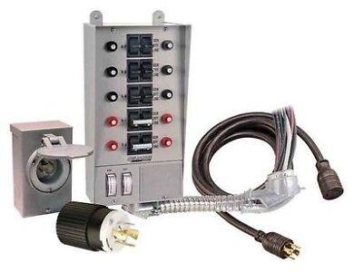 Reliance Controls Pro / Tran 30 Amp 10 Circuit Manual Transf