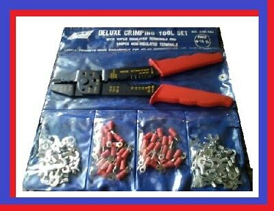 Deluxe Crimping Tool Set - Electricians Friend