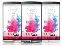 LG G3 4G LTE GPS WIFI Unlocked 8MP Camera 1GB RAM Smartphone - NFC GRADED