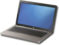 $100 HP G62-224CA laptop reformatted and in very good condition.