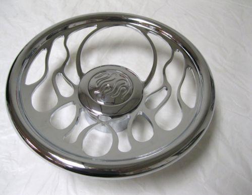 Billet Flame Steering Wheel Ebay
