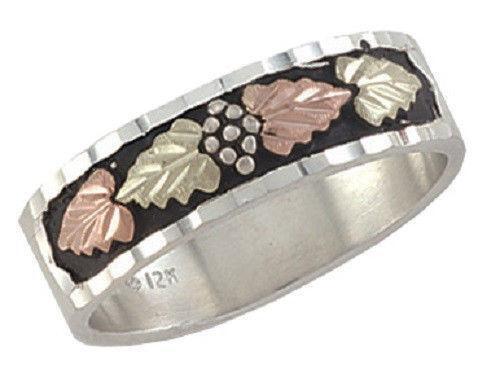Antique Black Hills Gold Ring Ebay