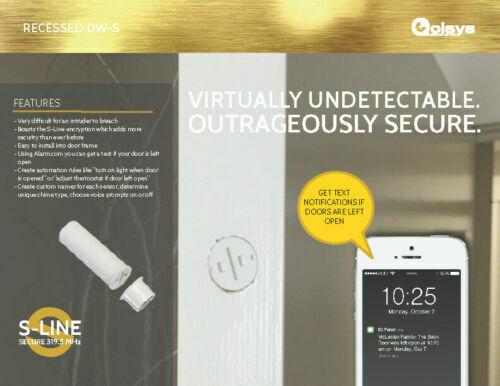 Qolsys IQ Recessed DW-S Door/Window Sensor - QS1134-840 OVERSTOCK