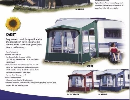 Ventura Cadet porch awning | in Barlborough, Derbyshire ...