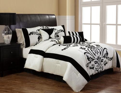 Black And White Bedding Ebay