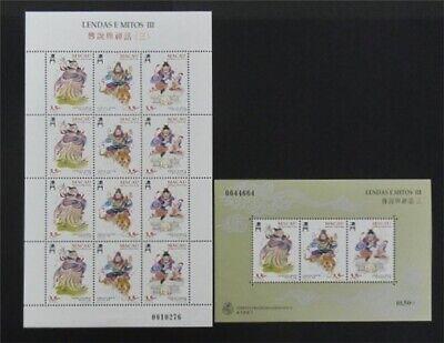 nystamps Macao Stamp # 819a.819b Mint OG NH $30   L23y3394