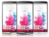 LG G3 4G LTE GPS WIFI enabled Unlocked 8MP Camera 1GB RAM Smartphone series - NFC GRADED