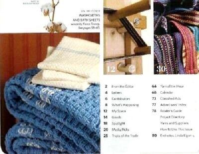 Handwoven magazine sept/oct 2008: INDIGO DYEING sakiori