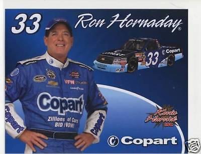 Ron Hornaday 2009 Copart Camping World Truck Postcard