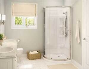 Stand up shower still in box