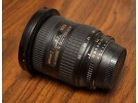 Nikon 18-35mm f/3.5-4.5 AF-D Nikkor ultra wide-angle zoom lens £200. Great wide-angle lens.
