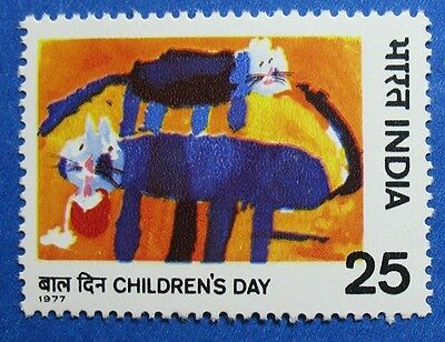 1977 INDIA 25NP SCOTT# 777 S.G.# 867 UNUSED NH                         CS11934