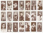 Boxing Cigarette Cards