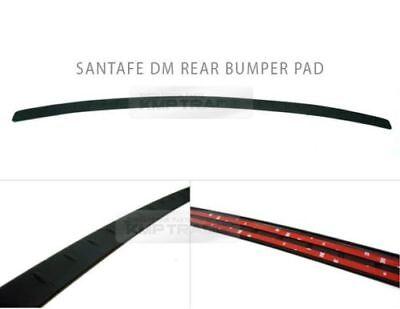 Rear Bumper Pad Scuff Rubber Molding Protector For HYUNDAI 2013-2016 Santa Fe DM