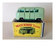 Matchbox Camper