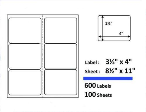 Shipping labels 3x4 ebay for Avery 3x4 labels