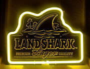 Landshark Neon Sign
