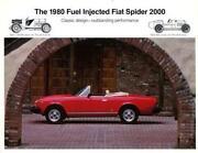 Prospekt Fiat Spider