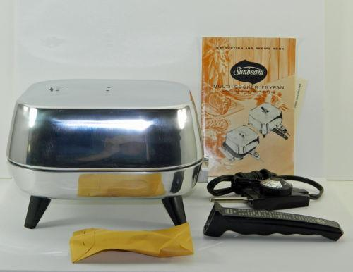 Sunbeam Electric Skillet Ebay