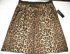 Womens Leopard Print Skirt
