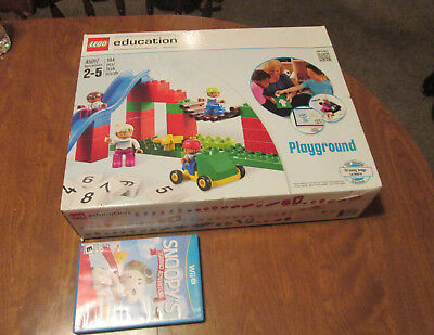 LEGO EDUCATION DUPLO SET PLAYGROUND # 45017 NEW BIG TOYS BIG GIFT BEST