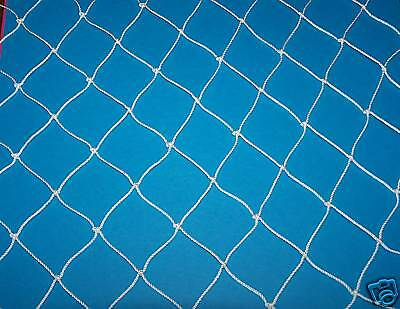 "50' x 50' POULTRY GAME BIRD PROTECTION FRUIT NET AVIARY NET  2"" Mesh  #4 Nylon"