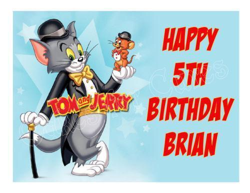Tom And Jerry Cake Topper Ebay