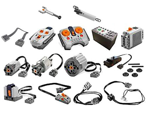 LEGO Power Functions Parts (technic,motor,remote,receiver,battery,box,wire,led)