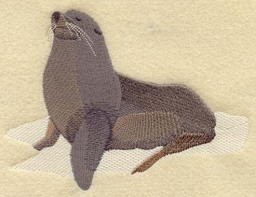 Embroidered Sweatshirt - Seal M2005 Sizes S - XXL