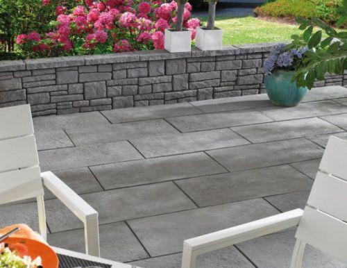 Kann terrassenplatten gehwegplatten steine ebay for Garten steine 40x40