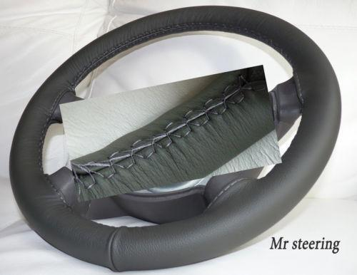 real leather steering wheel cover ebay. Black Bedroom Furniture Sets. Home Design Ideas