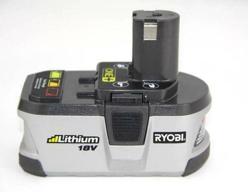 ryobi 18v li ion battery ebay. Black Bedroom Furniture Sets. Home Design Ideas
