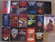 Lot of Stephen King Books